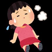 熱中症の子供
